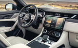 7 Jaguar F Pace SVR 2021 UK first drive review dashboard