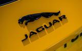 Jaguar F-Type Coupé 2020 first drive review - rear badge