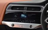 Jaguar I-Pace EV400 UK first drive review infotainment