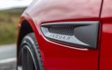 Jaguar XE 300 Sport 2018 UK first drive review fender detail