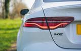7 Jaguar XE P250 R Dynamic 2021 UK FD rear lights