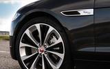 7 Jaguar XF Sportbrake P250 2021 UK review alloy wheels