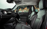 Jeep renegade Longitude 2019 UK first drive review - cabin