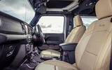 Jeep Wrangler 2019 UK first drive review - cabin