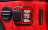 Jeep Wrangler Rubicon 2dr 2018 first drive review rear lights