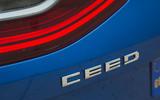 Kia Ceed 2018 long-term review - boot badge