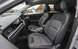 7 Kia e Niro 39kWh 2021 UK first drive review cabin