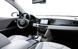 Kia Niro EV 2019 first drive review dashboard