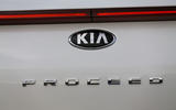 Kia Proceed 2019 first drive review - rear badge