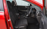 Kia Sportage 1.6 GDI '2' 2018 UK first drive cabin