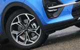 Kia Sportage GT-Line S 48V 2018 first drive review alloy wheels