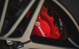 7 Kia Stinger GT S 2021 UK review brake calipers