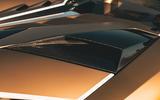 Lamborghini Aventador SVJ Roadster 2019 first drive review - engine cover