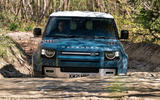 7 Land Rover Defender Hard Top Commercial 90 UK FD wading front