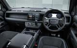7 Land Rover Defender V8 2021 UK FD dashboard