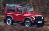 Land Rover Defender V8 - hero front