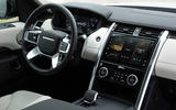 7 Land Rover Discovery D300 2021 UK first drive review dashboard