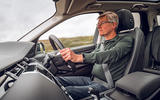Land Rover Discovery Sport 2019 UK first drive review - Richard Bremner driving front