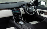 Land Rover Discovery Sport P300 PHEV 2020 UK first drive review - dashboard