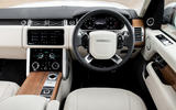 Land Rover Range Rover D300 2020 UK first drive review - dashboard