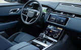 7 Land Rover Range Rover Velar PHEV 2021 UK first drive review dashboard