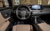 Lexus ES 300h 2018 review dashboard