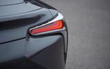 7 Lexus LC500 2021 UK FD rear lights