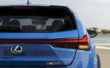 Lexus UX300e 2020 UK first drive review - rear lights