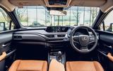 7 Lexus UX300e 2021 UK first drive review dashboard