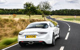 Litchfield Alpine A110 2018 UK review - on the road rear