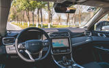 Lynk&Co 01 PHEV 2019 first drive review - dashboard