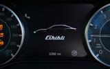 7 Maserati Ghibli Hybrid 2021 UK FD instruments