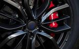 Maserati Levante GranSport V6 2018 first drive - brake calipers