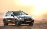 Maserati small SUV render - static front