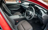 Mazda 3 2019 UK first drive review - cabin