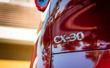Mazda CX30 2019 first drive review - rear badge