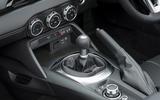 Mazda MX-5 2.0 Sport Tech 2020 UK first drive review - gearstick