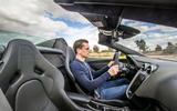 McLaren 600LT Spider 2019 first drive review - Mark Tisshaw driving