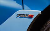 McLaren 720S Spider 2019 UK first drive - side badge