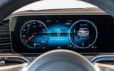 Mercedes-Benz GLS 400D 2019 first drive review - instruments