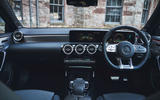Mercedes-AMG A35 2019 UK first drive review - dashboard