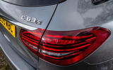 Mercedes-AMG C63 S Estate 2019 first drive review - rear lights