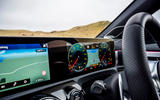 Mercedes-AMG CLA 35 Shooting Brake 2020 UK first drive review - instruments