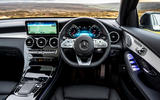 Mercedes-AMG GLC 43 Coupé 2020 UK first drive review - dashboard