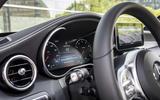 Mercedes-Benz C-Class C200 2018 review instrument cluster