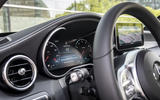 Mercedes-Benz C-Class C200 2018 review instrument cluster