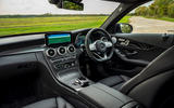 Mercedes-Benz C300e 2020 UK first drive review - dashboard