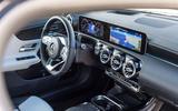 Mercedes-Benz CLA 2019 first drive review - cabin