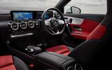 Mercedes-Benz CLA 250 2019 UK first drive review - dashboard