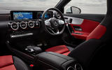 Mercedes-Benz CLA 250 2019 UK first drive review - dashboard